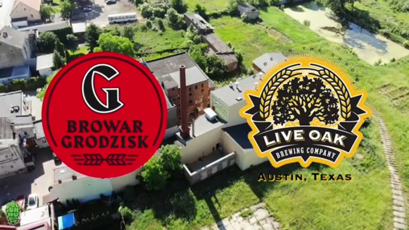Live Oak Brewing (USA) and Grodzisk (PL): double grodziskie with Zula